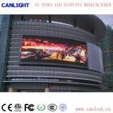 スクリーンを広告するための屋外P8フルカラーの固定LED表示