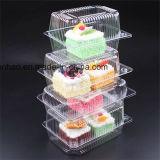Den Kuchen klar anpassen, der Plastikfilterglocke-Kasten-China-Fabrik-Nahrungsmittelbehälter-Verpackungs-Lieferanten verpackt