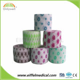 Fasciature veterinarie coesive non tessute di stampa del reticolo del cotone