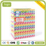 Мешки Striped цветастого ежедневного подарка искусствоа необходимостей бумажные