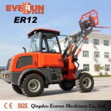 CER markierte landwirtschaftliche Maschine 1.2ton Everun MiniRadlader