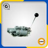 Válvula hidráulica do carretel para a válvula de madeira do divisor do registro de máquina da estaca