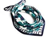 デジタルPritedスクエア50*50cmの絹のスカーフ