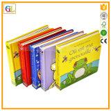 Alta stampa del libro di bambini di colore completo di Qaulity 3D (OEM-GL001)