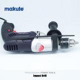 Herramientas eléctricas del taladro del impacto de la base de Makute 1050W con la casa de nylon