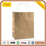 Bolsa de papel Kraft, regalo bolsa de papel, ropa, bolsas de papel
