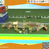 子供Hx1101hのための屋外の冒険の木の運動場