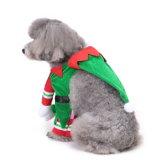 L'animal familier de Noël vêtx des procès de vêtements de costume pour des crabots et des chats