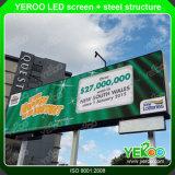 Schermo del video della visualizzazione di LED di pubblicità esterna di colore completo
