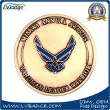 米国陸軍の金属の記念品の硬貨