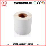 Pre-Printed Rollo de papel adhesivo térmico directo