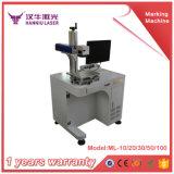 Laser caliente de la fibra de la venta 20/30W que hace la máquina para el metal
