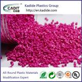 De PP de polipropileno de resina plástica vermelha Masterbatch cor-de-rosa