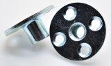 Blaue galvanisierte t-Mutter/Mutter der Platten-Mutteren-/vier Loch