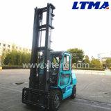 5m de altura de elevación carretillas elevadoras eléctricas tipo 3t con cabina