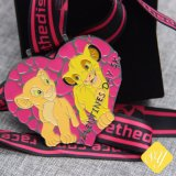 よいQuailityのカスタム青銅色の警察のトロフィの連続したマラソンの記念品メダル