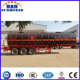 36 CBMによって熱される瀝青またはアスファルトまたはピッチまたはAsphaltumタンクかタンク車の半トレーラー