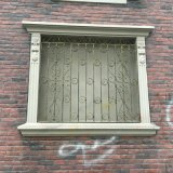 Griglia semplice Windows del ferro saldato di obbligazione di disegni moderni
