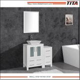 Moderno lavabo de cerámica de montaje por encima de muebles de baño T9161