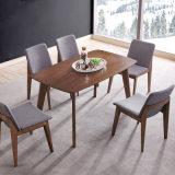 Mesa De Comedor modernos de madera y Silla Restaurante Muebles para Comedor