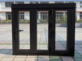 Salto térmico de aluminio de Casement Ventana con persiana incorporada