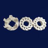 絶縁体パフォーマンス99% Al2O3弁のアルミナの陶磁器の管の予備品