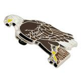 무료 샘플 주문 독수리 사기질 접어젖힌 옷깃 Pin