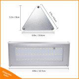 48 LED Super-Brightness Alluminum pared solar al aire libre Jardín de Luz (SW-K148R)
