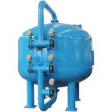 Insudtrialの廃水処置のための砂のろ過システム