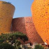 Diseño exclusivo centro comercial de Revestimiento de pared exterior