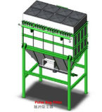 Mc Dust Collector Simple Cyclone Dust Bag Filter Pulsates