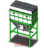 Coletor de pó de Pulso Mc simples Filtro Coletor de pó do tipo ciclone