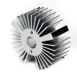 Aluminium extrudé de la qualité de la partie de dissipateur de chaleur de l'éclairage LED composant de rechange OEM