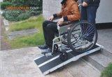 Alimentación Foctory Plegable Portátil rampa para silla de ruedas.