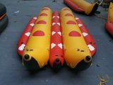 Doppelt-Reihe Bananen-aufblasbares Boot für Wasser-Spiel