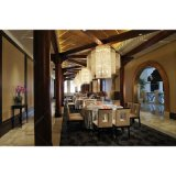 Mateial de madera juego de mesa de comedor Muebles para Hotel de lujo