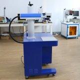 스테인리스 색깔 표하기와 Oxided 알루미늄 까만 표하기를 위한 탁상용 유형 Mopa 섬유 Laser 조각 기계