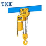 Txk 7.5トンの電気トロリーが付いている電気チェーン起重機