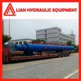 Stapel-fahrender Lastkahn-Öl-Hydrozylinder des 12000mm Anfall-20MPa