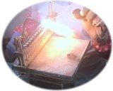 3 trabalhos do competidor da válvula da maneira