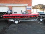 Спасательная лодка нервюры Китая Aqualand 19feet 5.8m воинская/твердая раздувная шлюпка (rib580t)
