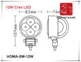 3 indicatore luminoso del lavoro di pollice 12W LED