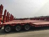 ISO CCC одобрил трейлер тележки кровати 3 Axle низкий