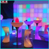 Iluminación LED Iluminación al aire libre Polietileno Muebles LED Iluminado PE muebles