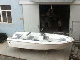 Liya 5mの販売のための中央コンソールが付いている小さいディンギーの救助艇のガラス繊維の漁船