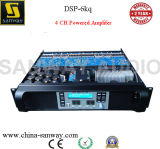 DSP-6kq 624W Power Mixer Professional Amplifier