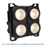 4*100W calientan la luz blanca de la audiencia de estudio del LED