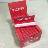 Papel de balanceo del cáñamo del cigarrillo del cliente de América que fuma (1 1/4 talla)