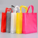 Logarithme naturel promotionnel d'impression de Wityh de sacs à provisions de tissu non-tissé fait sur commande