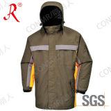 Jaqueta de esqui exterior à prova de capuz (QF-616)